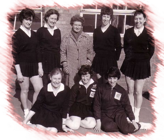 Bedfordshire County Netball squad 1960-62